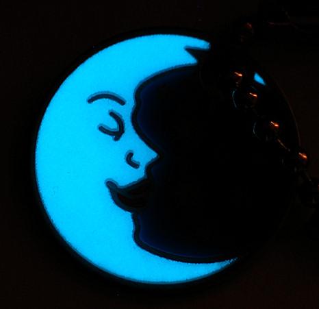 travel moon nachtcache geocoin tb travelbug geocaching leuchtet im dunkeln ebay. Black Bedroom Furniture Sets. Home Design Ideas